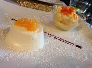 Ostarie di Santine - Mandarino e cachi