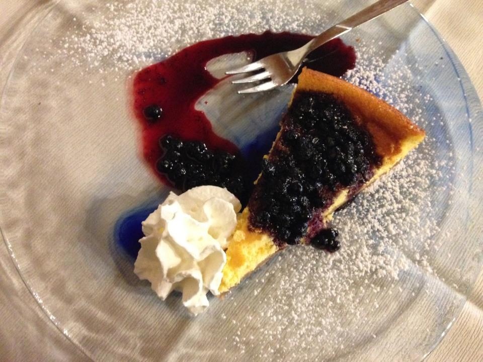 Contadina - Cheesecake con frutti di bosco