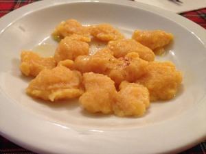 Osteria - Gnocchi di zucca